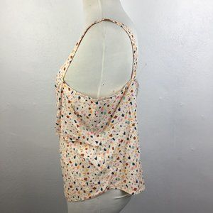 Madewell Tops - Madewell Terrazzo Tie Front Camisole